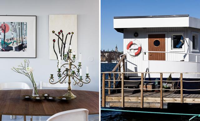 Husbåten med Stockholms bästa utsikt får oss att vilja flytta in direkt!