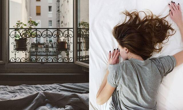 Forskning visar: Här är orsaken till varför du inte ska sova med öppet fönster
