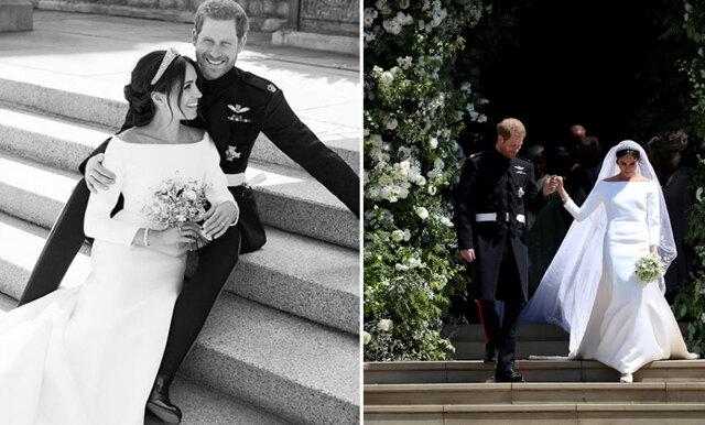 De officiella bröllopsbilderna är här och de är magiskt vackra