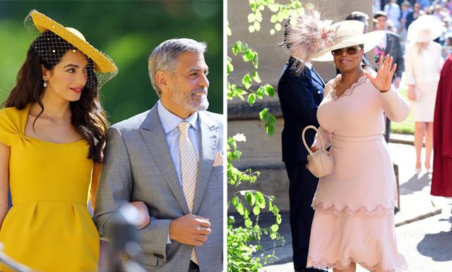 Stjärnspäckat på prinsbröllopet – se alla vackra klänningar här