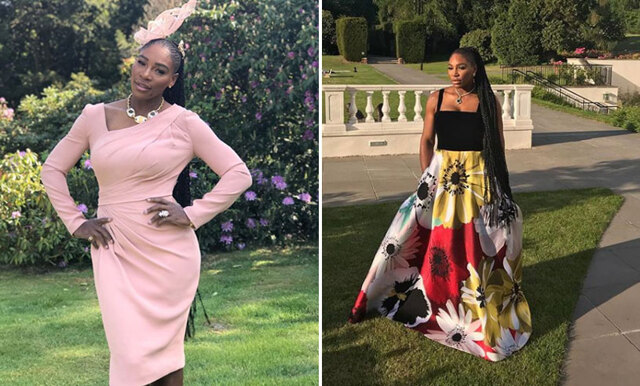 Serena Williams visar upp det annorlunda skovalet på det kungliga bröllopet