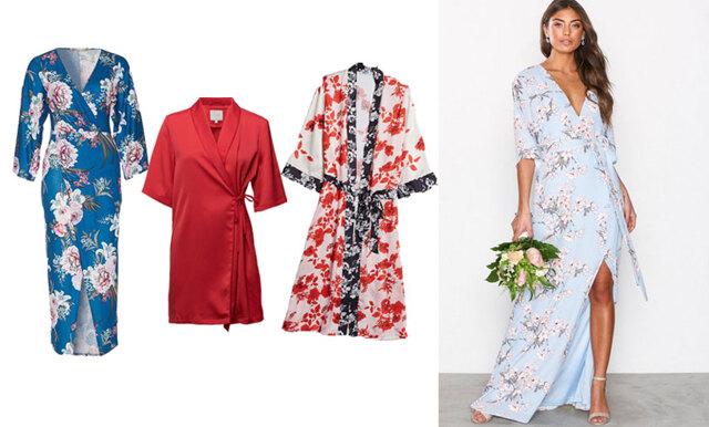 20 drömmiga kimonoklänningar – sommarens snyggaste plagg!