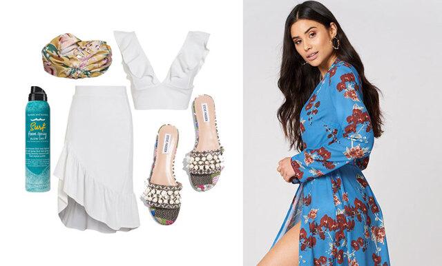 Gör dig redo för stranddagar och poolhäng – inspireras av 3 somriga och trendiga outfits