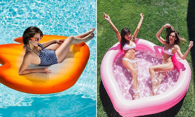 Bada med emojis och hunkar – här är de uppblåsbara leksakerna vi bara måste ha i poolen!