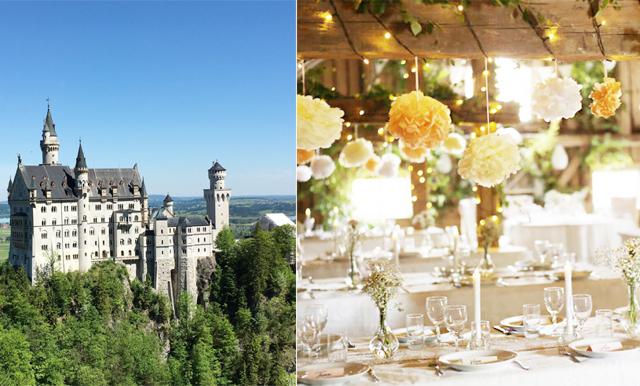 Vägen till vigseln: Så dekorerar du bröllopslokalen – köptips för ladan och slottet