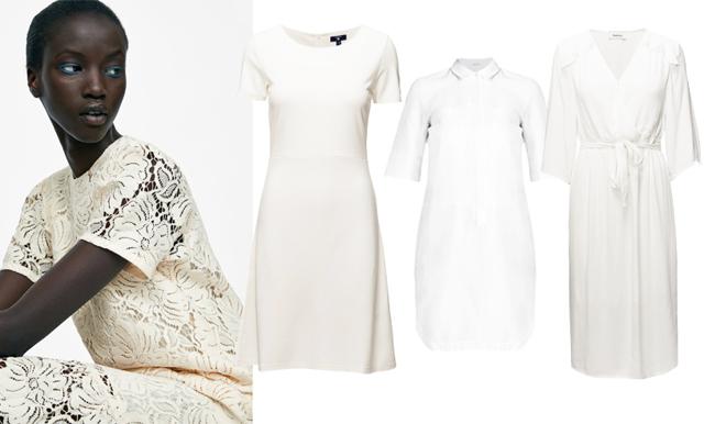 Vita klänningar att bära på midsommar – 20 stilsäkra modeller från budget till lyx