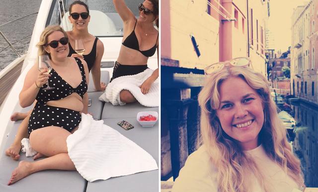 """Lisa Dahlgren: """"Den prickiga baddräkten fick mig att sluta gömma min kropp"""""""