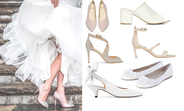 Vägen till vigseln: Klackarna som lyfter bröllopsklänningen 2018