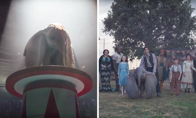 Se första trailern till nya filmen om Dumbo - den är så känslosam