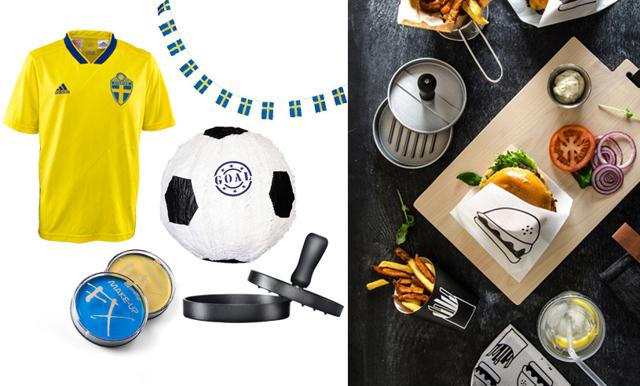 Heja Sverige! 16 köp som gör dig redo för tidernas fotbollsfest
