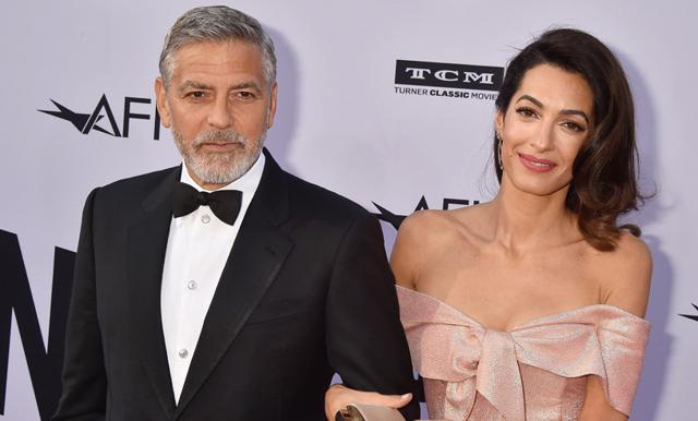 George Clooney tårögd efter frun Amals vackra tal!