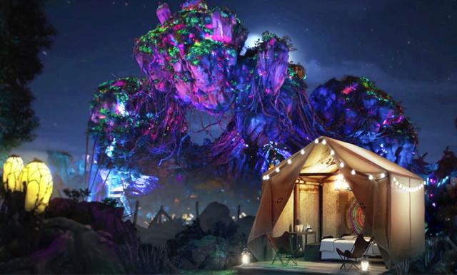 Världens häftigaste campingplats – nu kan du sova i tält på Disney World!