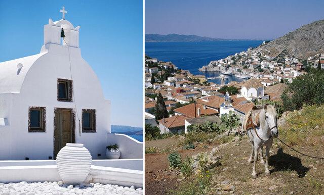 7 undangömda paradispärlor i den grekiska ö-världen