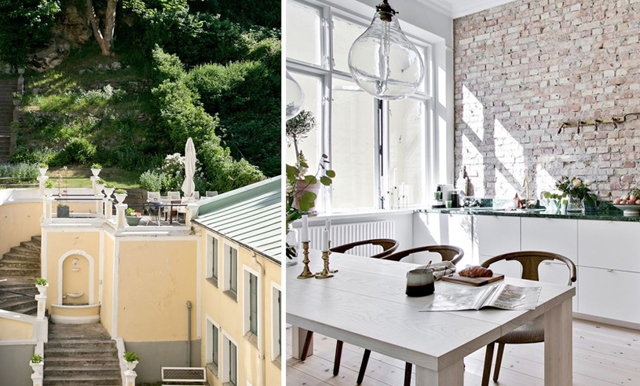Veckans hem bjuder på medelhavskänsla och Sveriges finaste kök
