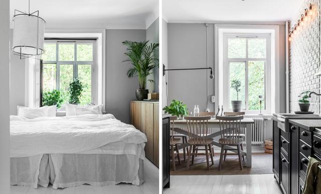Stilsäkert skandinaviskt – veckans hem är den mysiga göteborgstvåan