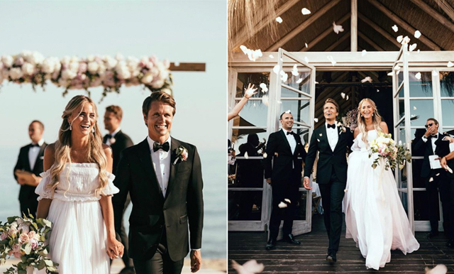 Kärleksmagi under helgen – se alla bilder från Janni Delérs bröllop!