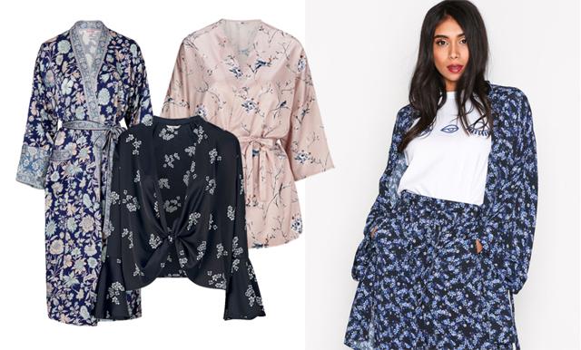 Haffa sommarens skönaste plagg – 22 mönstrade kimonos!