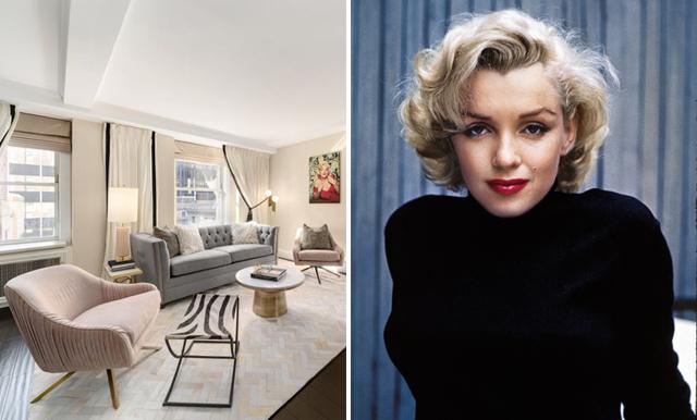 Nu kan du bo en natt i Marilyn Monroes gamla hem