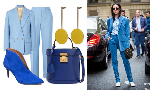 """Metro Mode-Matildas höstlook: """"Jag vill bära blått i alla nyanser"""""""