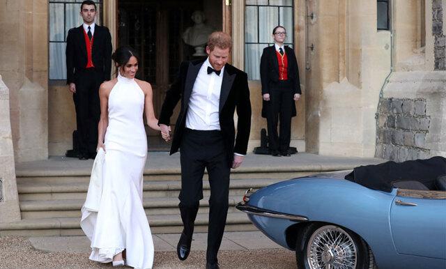 Stella McCartney återskapar Meghan Markles andra bröllopsklänning