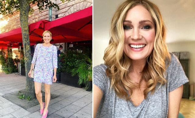 Jessica Almenäs släpper kaggen lös i bikini – hyllas bland kommentarerna