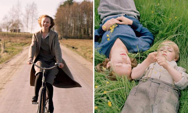 """Nu är officiella trailern till """"Unga Astrid"""" äntligen här och den väcker så många känslor"""