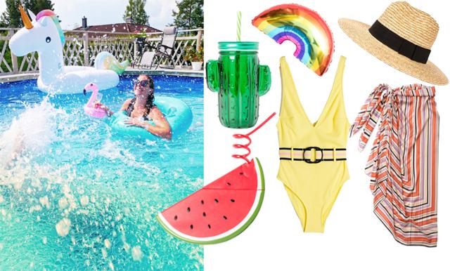 Svalka dig med ett poolparty i sommar – köpen som fixar festen