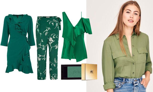 Grönt är skönt – 19 plagg att bära i sommar (och i höst!)