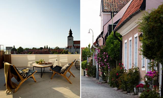 Här är drömvillan i hjärtat av Visby (med makalös utsikt!)