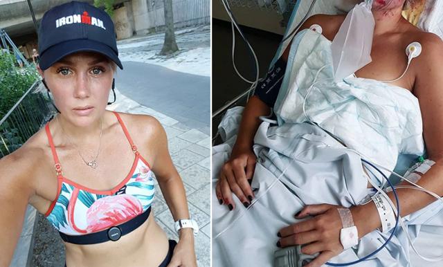 """Joanna Swica om cykelkraschen: """"Jag var några millimeter från att bryta nacken"""""""