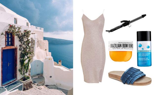 Metro Mode-Alexias packning inför resan till Grekland – 22 favoriter!