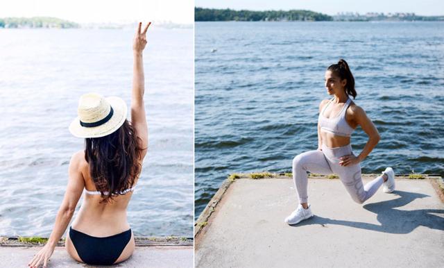 Behåll dina goda träningsvanor under semestern - 6 träningsövningar att göra på resande fot