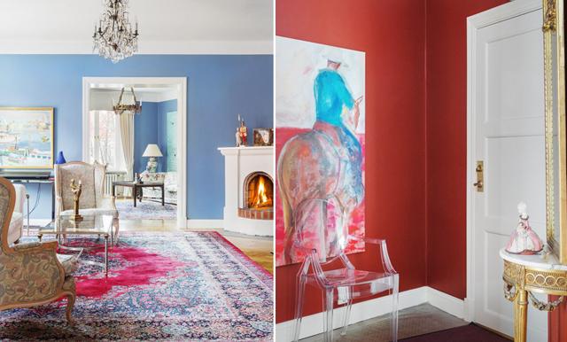 Färgklickar och extra allt – här är paradvåningen som får oss att smälta