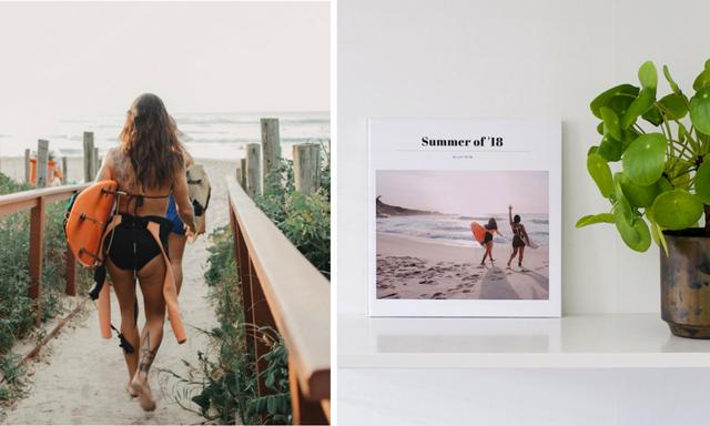 Snyggaste sättet att spara semesterbilderna