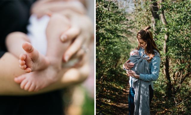 Ammande mamman blev tillsagd att täcka över sig – ger klockrent svar!