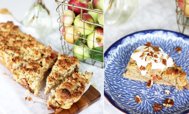 Ta vara på säsongens frukt med en frasig (och superenkel) äppelpaj