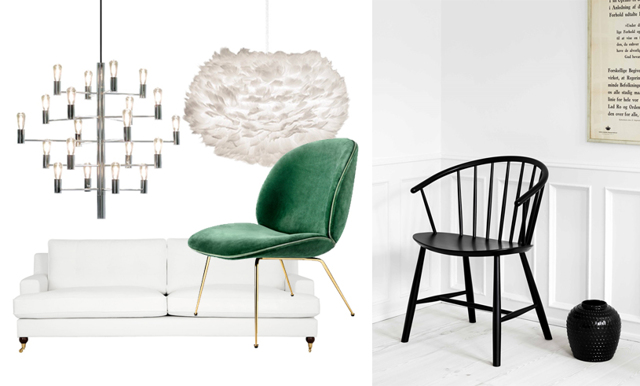 Sno stilen av designklassikerna – 14 inredningskap från budget till lyx