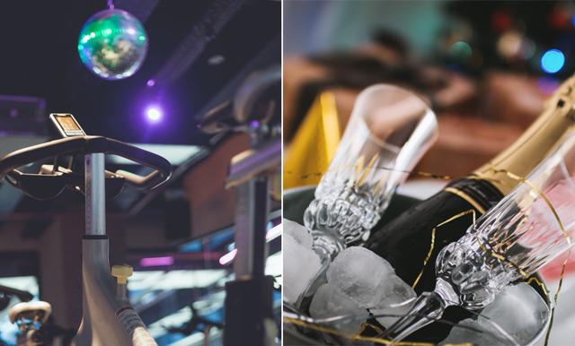 Nu kan du träna och dricka bubbel – här öppnar nattklubbsgymmet!