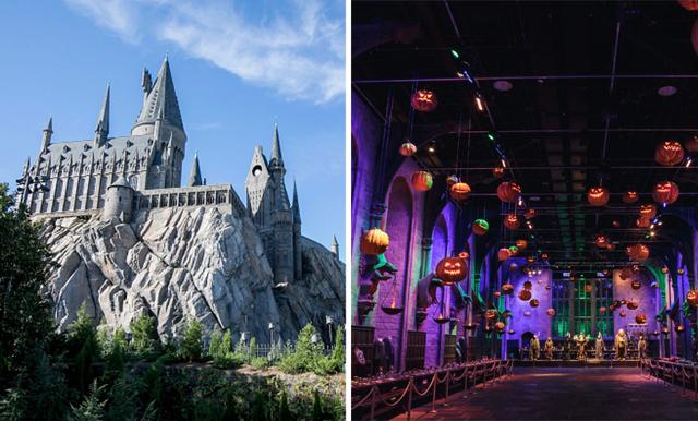 Magi på riktigt – nu kan du fira halloween på Hogwarts