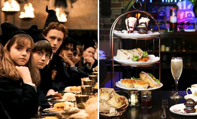 Harry Potterfans! Nu finns en magisk afternoon tea med Hogwarts-tema