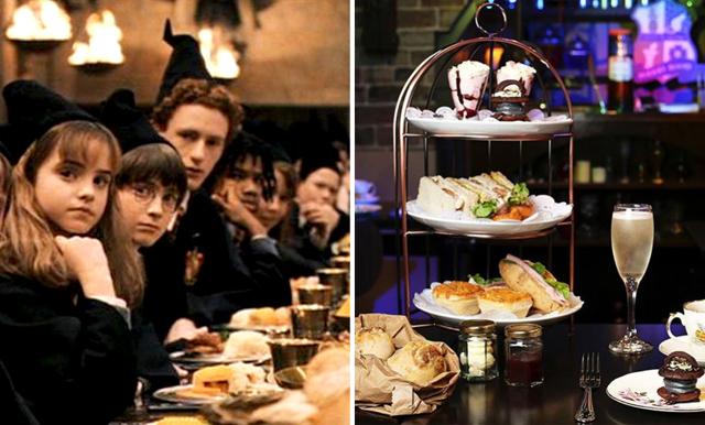 Harry Potterfans! Nu finns en magisk afternoon tea med Hogwarts-tema