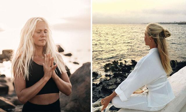 """Josefines Yoga om ensamhet: """"Det är som att personerna jag möter inte är där med mig"""""""