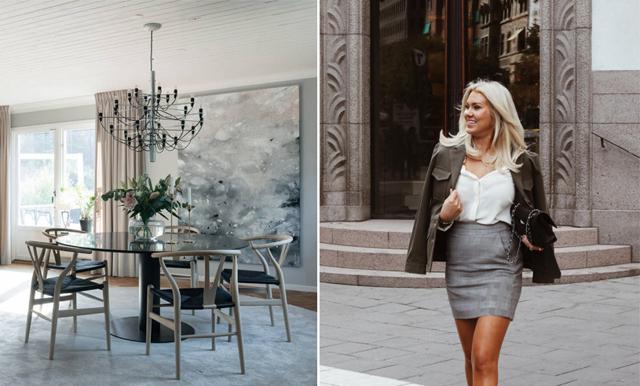Nu säljer Isabella Löwengrip huset – spana in Lidingövillan här!