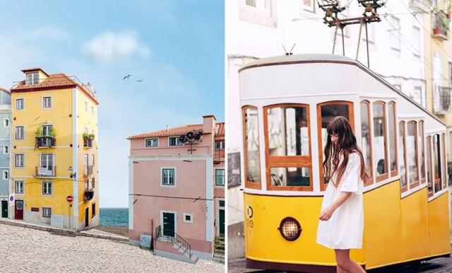 Nya drömmen! 13 Instagramkonton som får dig att vilja åka till Lissabon