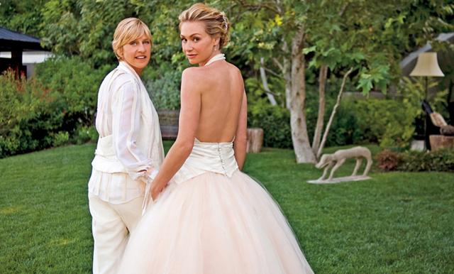 Ellen Degeneres och Portia firar 10 år som gifta – se deras känslosamma bröllopsvideo