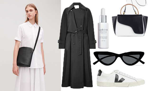Klä dig i svartvitt – kombinationen som alltid funkar!