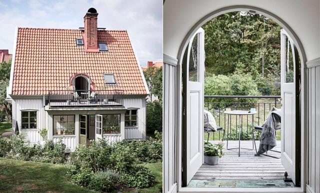 Idylliskt 20-talshus mitt i stan får oss att vilja flytta till Göteborg