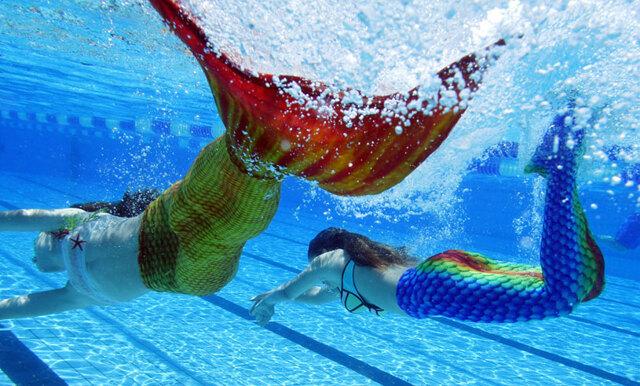 Nu kan du träna som en sjöjungfru på semesterresan