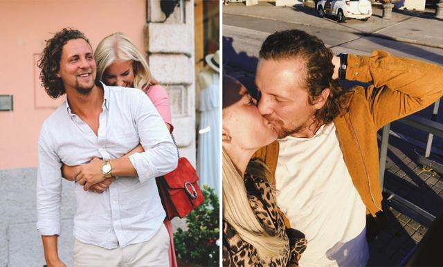 Drömmigt bröllop – här är de första bilderna på Petra Tungårdens brudklänning