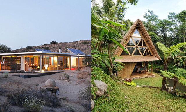 Ett glashus i öknen eller en stuga uppe i ett träd – här är de 10 mest populära husen på Airbnb
